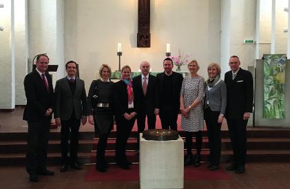 Foto: neuer KGR nach Einführungsgottesdienst
